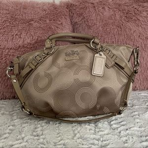 LIKE NEW✨Coach taupe Sophia satchel